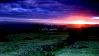 SUNSET OVER BRENTOR