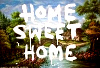 BANKSY_HOME SWEET HOME