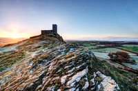 Brentor Sunrise.